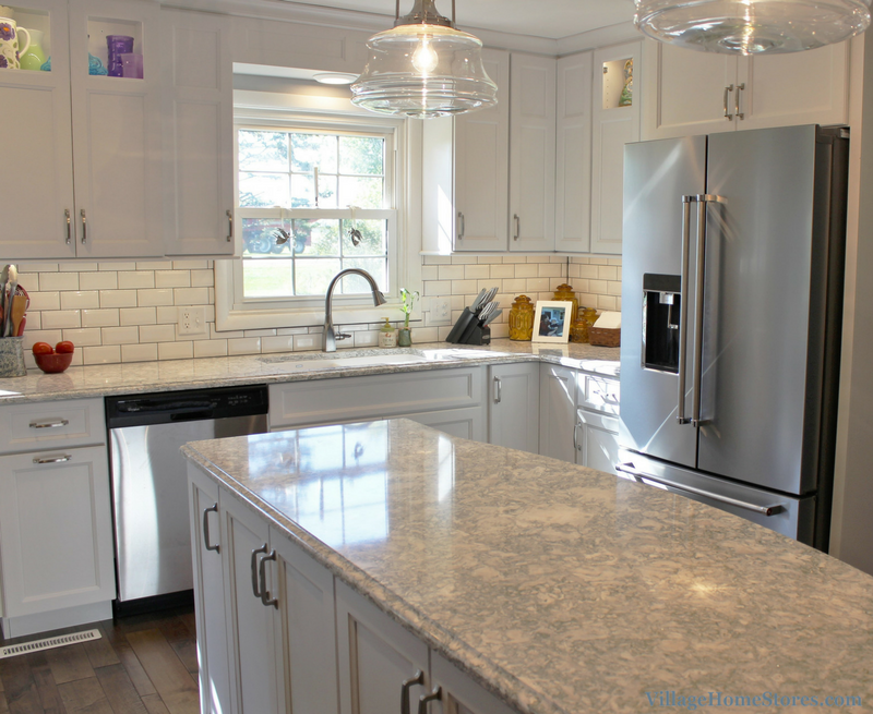 A Prophetstown, IL kitchen designed by Chris Robinson and remodeled completely from start to finish by Village Home Stores. | VillageHomeStores.com