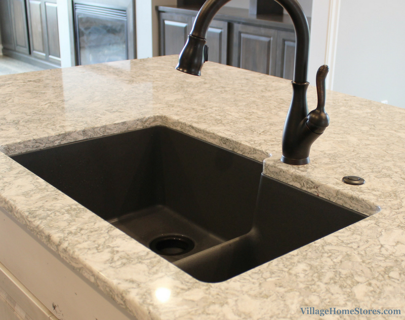 Cambria quartz in Berwyn design. Kitchen design by Village Home Stores. | VillageHomeStores.com