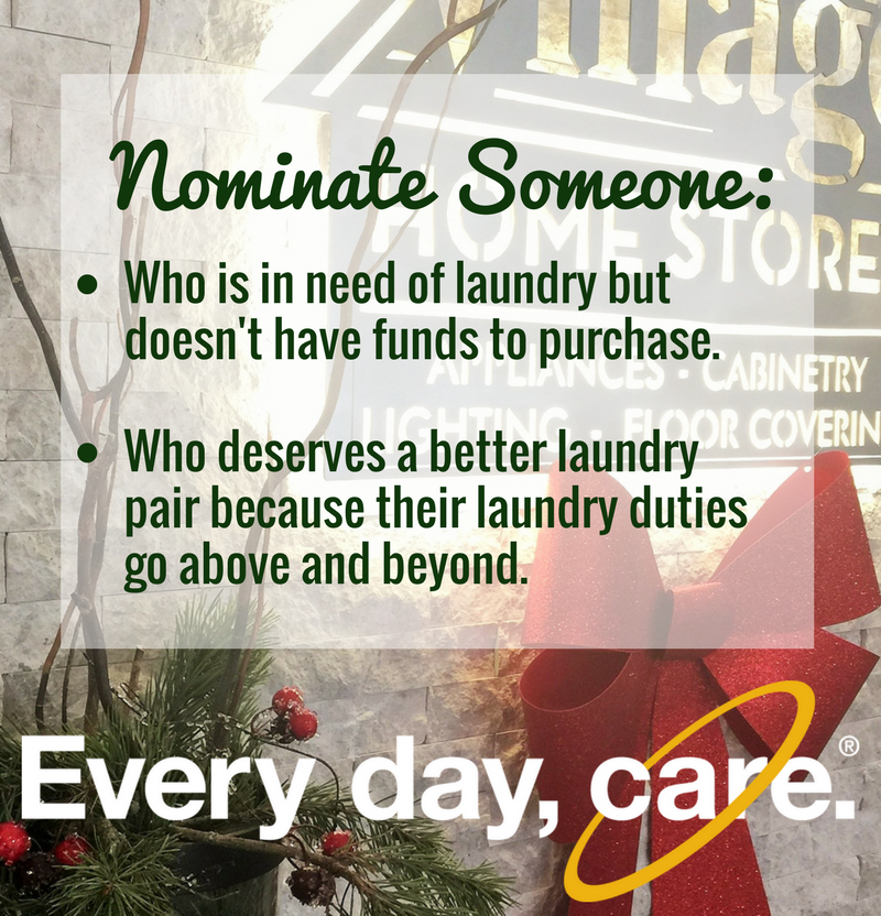 Help Village Home Stores find a deserving home for this laundry pair. See store for details. | VillageHomeStores.com