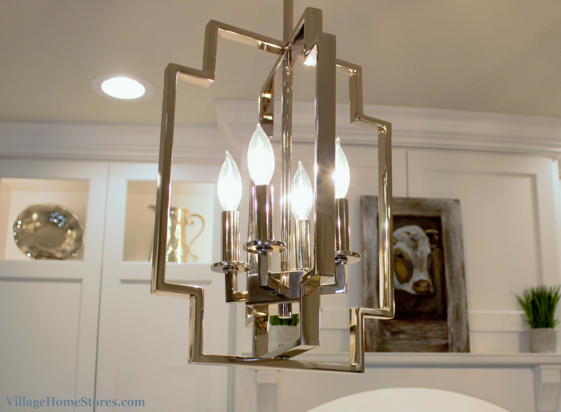 Kichler pendant lighting in remodeled kitchen. | VillageHomeStores.com