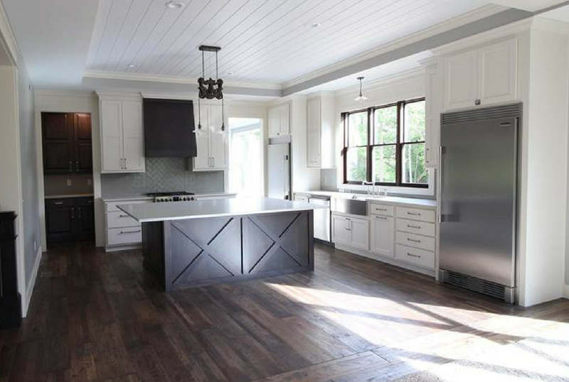 Urban Farmstead Kitchen Cabinetry by Village Home Stores for Applestone Homes. | VillageHomeStores.com