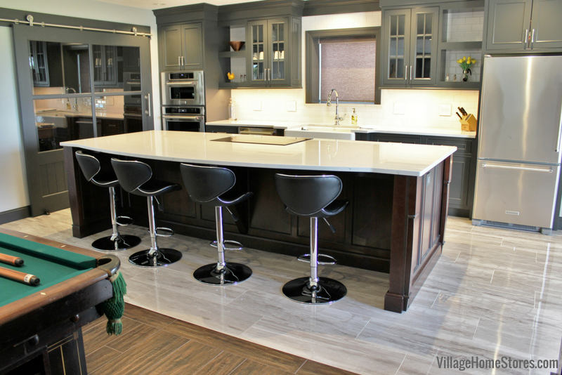 Durasupreme Cabinetry And Cambria Quartz Counters Featured In This Quad Cities Area Kitchen Remodel From Village