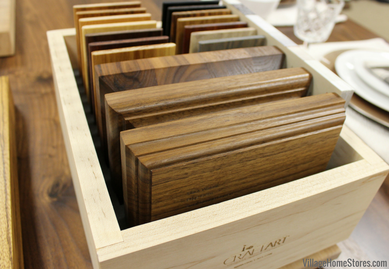 Wood butcherblock tops available in a variety of woods and finishes from Village Home Stores. | VillageHomeStores.com