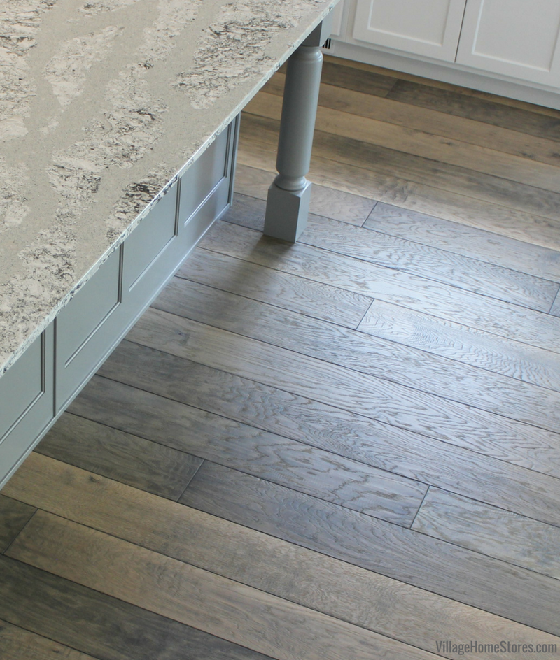 A Moline, IL home with Canoe Bay engineered wood flooring from Village Home Stores for Hazelwood Homes. | VillageHomeStores.com