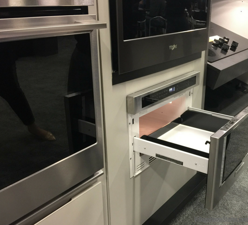 The new KitchenAid microwave drawer available at Village Home Stores. | VillageHomeStores.com