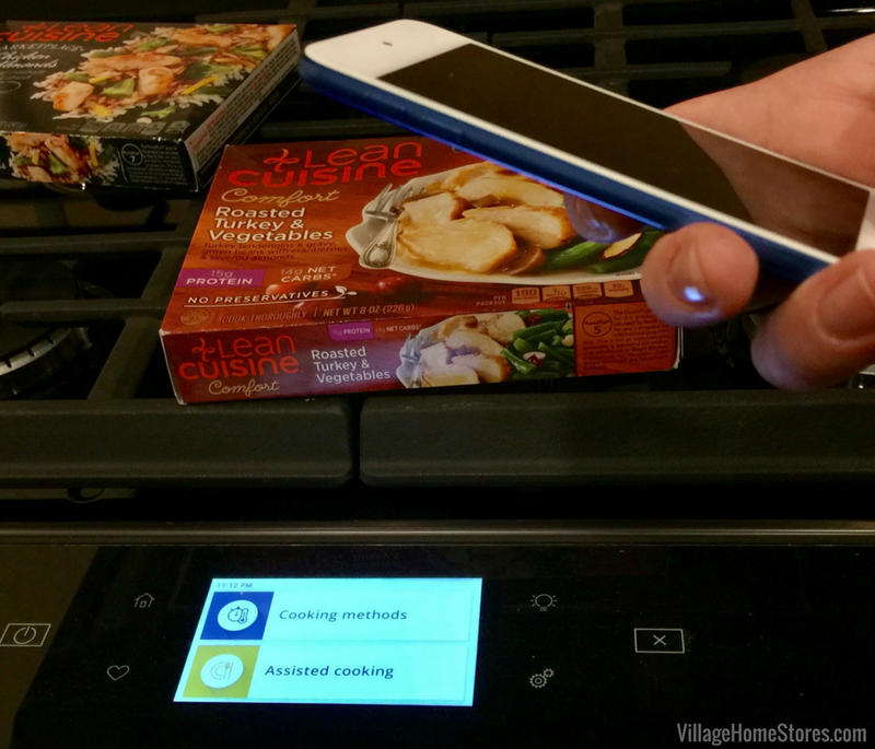 Scan to cook connected features with new Whirlpool connected products. | VillageHomeStores.com