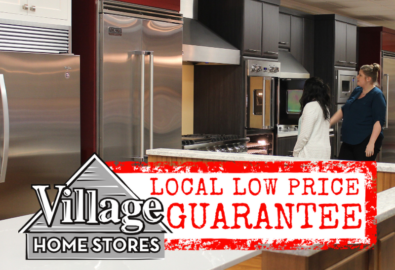 Village Home Stores is home of the local low price guarantee. If you can locally find a better deal on the same product and services we will match it. | villagehomestores.com