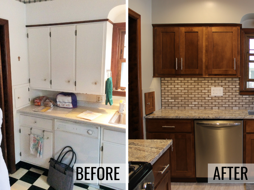 Moline kitchen remodeled from start to finish by Village Home Stores. | villagehomestores.com