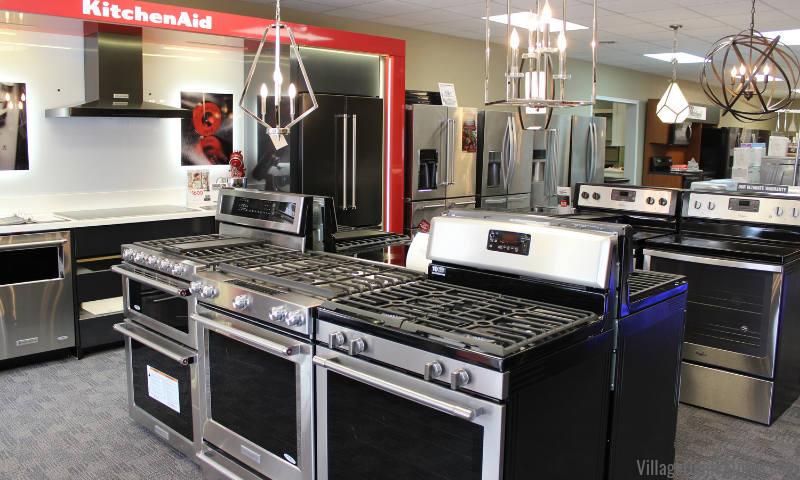 Village Home Stores is your expert source for Whirlpool, Maytag, KitchenAid, Amana, Sharp, and Viking purchases and repairs. | villagehomestores.com