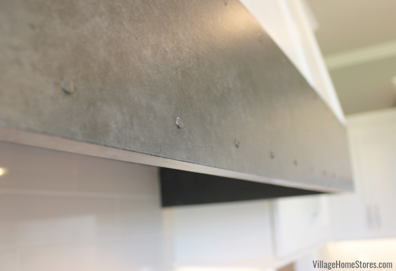 Metallic faux finish detail in a kitchen by Village Home Stores. | villagehomestores.com