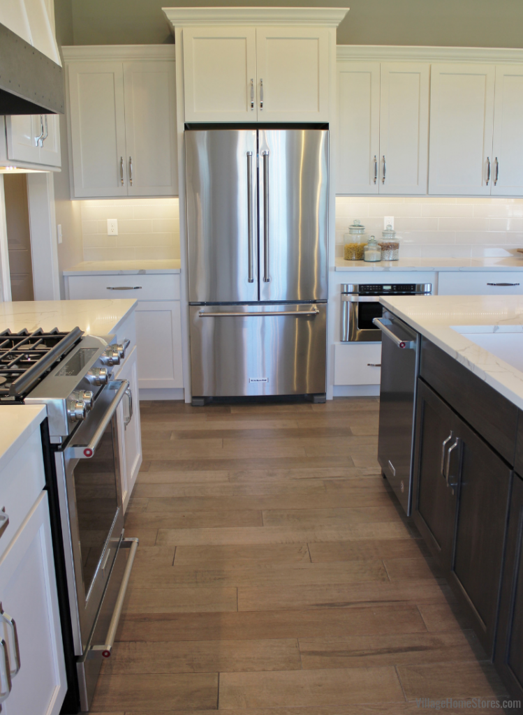 KitchenAid Stainless Steel appliances in a Bettendorf, Iowa home. | VillageHomeStores.com