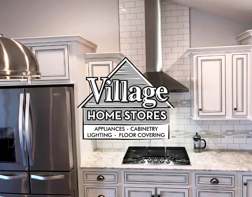 New Home White Kitchen With Black Island Village Home Stores Blog
