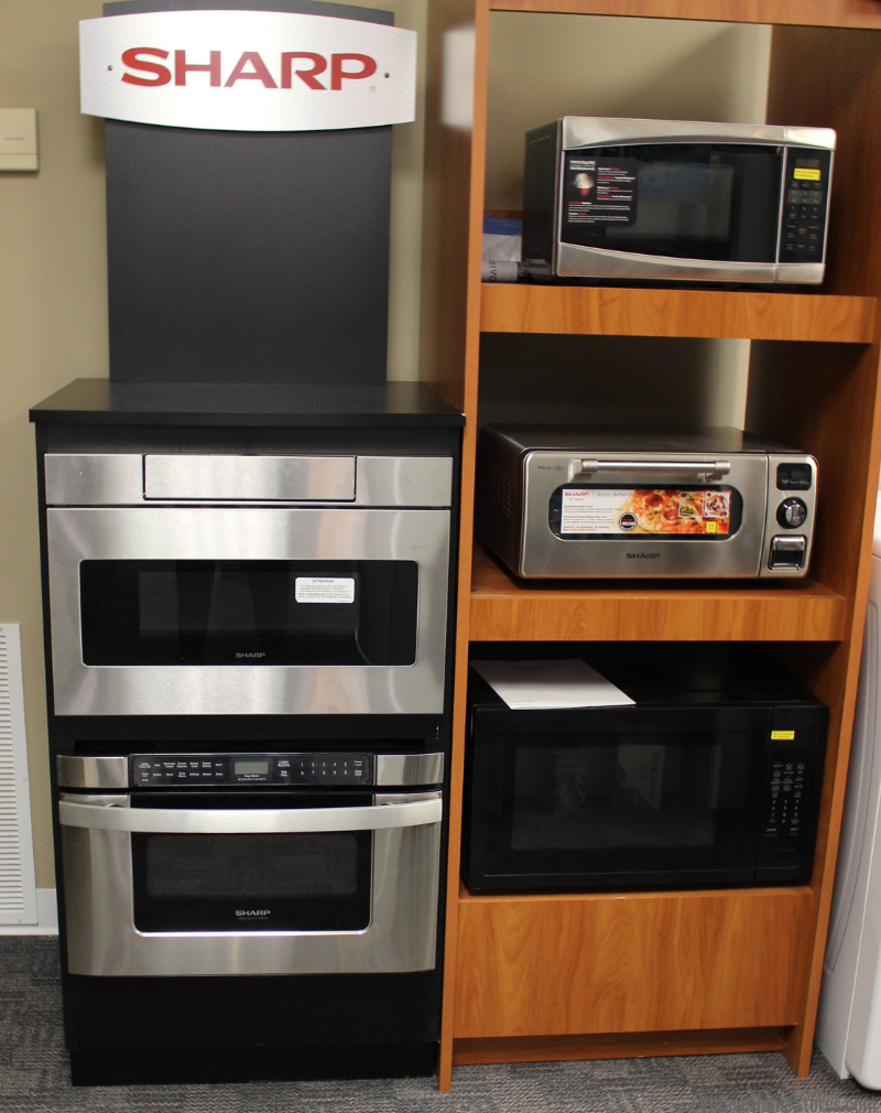 Sharp Appliances including drawer microwaves and steam ovens. Available at Village Home Stores. | villagehomestores.com