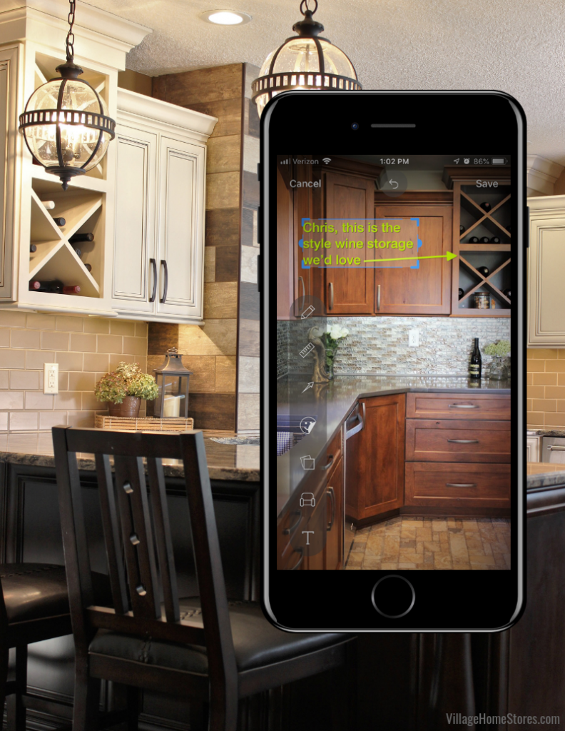 How to use sketch feature in Houzz ideabooks by Best of Houzz winners Village Home Stores. | villagehomestores.com