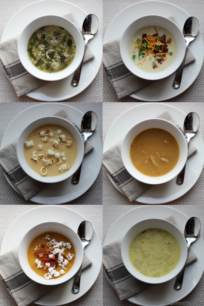 Great soups this year for the Village Home Stores Staff Soup Cookoff #villagehomestores #wemakeavillage | villagehomestores.com