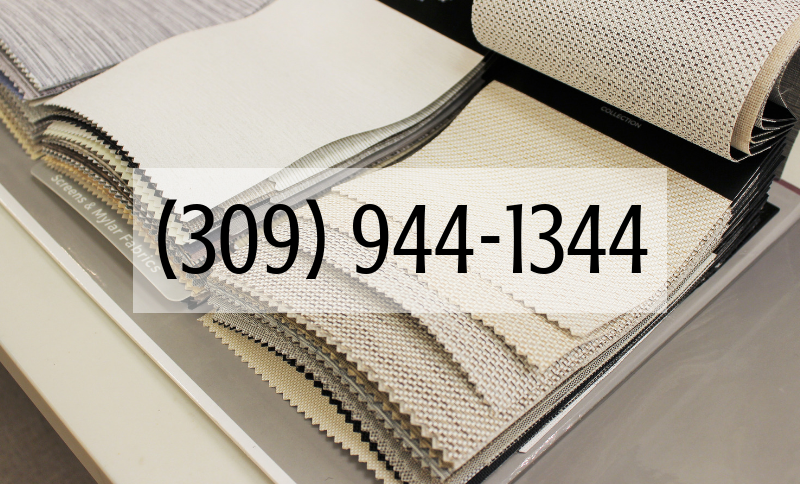 Village Home Stores Phone number 309 944 1344 for custom window treatments, shades, and blinds in Quad Cities area.