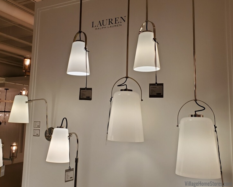 New Ralph Lauren lighting collection by Generation Lighting available at Village Home Stores.