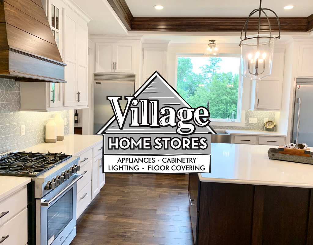 White And Mocha Stained Kitchen Village Home Stores Blog