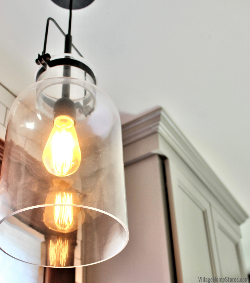 """Lansing 8"""" kitchen sink pendant light by Uttermost from Village Home Stores."""