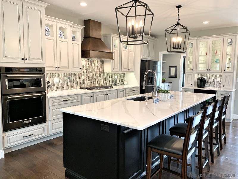 Coal Valley, Illinois kitchen design by Village Home Stores for Hazelwood Homes of the Quad Cities.